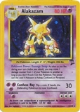 Pokemon Base Set 2 Single Alakazam 1/130 - MODERATE PLAY (MP)