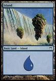 Magic the Gathering Champions of Kamigawa Single Basic Island FOIL - NEAR MINT (NM)