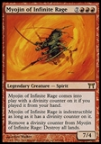 Magic the Gathering Champions of Kamigawa Myojin of Infinite Rage FOIL - NEAR MINT (NM)