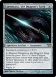 Magic the Gathering Champions of Kamigawa Single Tatsumasa, the Dragon's Fang - MP