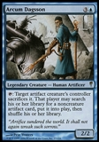 Magic the Gathering Coldsnap Single Arcum Daggson - SLIGHT PLAY (SP)