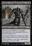 Magic the Gathering Coldsnap Single Haakon, Stromgalf Scourge - MODERATE PLAY (MP)