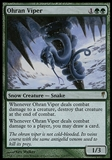 Magic the Gathering Coldsnap Single Ohran Viper - MODERATE PLAY (MP)