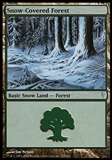 Magic the Gathering Coldsnap Single Snow-Covered Forest - NEAR MINT (NM)