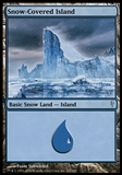 Magic the Gathering Coldsnap Single Snow-Covered Island - NEAR MINT (NM)