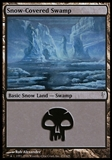 Magic the Gathering Coldsnap Single Snow-Covered Swamp - NEAR MINT (NM)