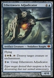Magic the Gathering Conflux Single Ethersworn Adjucator - MODERATE PLAY (MP)