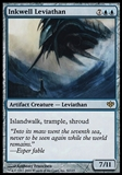 Magic the Gathering Conflux Single Inkwell Leviathan FOIL - SLIGHT PLAY (SP)
