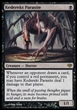 Magic the Gathering Conflux Single Kederekt Parasite FOIL - NEAR MINT (NM)