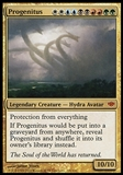 Magic the Gathering Conflux Single Progenitus - SLIGHT PLAY (SP)