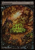 Magic the Gathering Promotional Single Damnation (FULL ART FOIL) - SEALED
