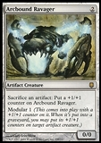 Magic the Gathering Darksteel Single Arcbound Ravager - MODERATE PLAY (MP)