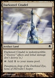 Magic the Gathering Darksteel Single Darksteel Citadel FOIL - SLIGHT PLAY (SP)