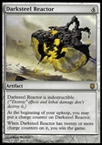 Magic the Gathering Darksteel Single Darksteel Reactor - MODERATE PLAY (MP)