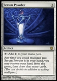 Magic the Gathering Darksteel Single Serum Powder FOIL - MODERATE PLAY (MP)