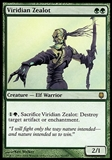 Magic the Gathering Darksteel Single Viridian Zealot - SLIGHT PLAY (SP)