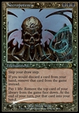 Magic the Gathering Deckmaster Single Necropotence Foil - SLIGHT PLAY (SP)