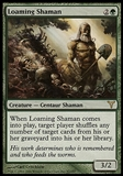 Magic the Gathering Dissension Single Loaming Shaman - MODERATE PLAY (MP)