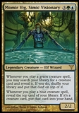 Magic the Gathering Dissension Single Momir Vig, Simic Visionary - MODERATE PLAY (MP)