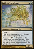 Magic the Gathering Dissension Single Pride of the Clouds - MODERATE PLAY (MP)