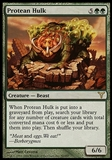 Magic the Gathering Dissension Single Protean Hulk - SLIGHT PLAY (SP)