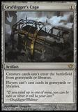 Magic the Gathering Dark Ascension Single Grafdigger's Cage - SLIGHT PLAY (SP)