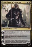 Magic the Gathering Dark Ascension Single Sorin, Lord of Innistrad FOIL - SLIGHT PLAY (SP)