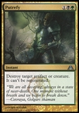 Magic the Gathering Dragon's Maze Single Putrefy - NEAR MINT (NM)