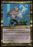 Magic the Gathering Planeshift Single Ertai, the Corrupted FOIL - MODERATE PLAY (MP)