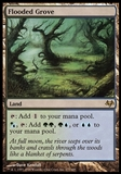 Magic the Gathering Eventide Single Flooded Grove - SLIGHT PLAY (SP)