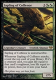 Magic the Gathering Eventide Single Sapling of Colfenor - SLIGHT PLAY (SP)