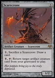 Magic the Gathering Eventide Single Scarecrone FOIL - SLIGHT PLAY (SP)