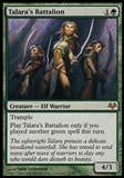 Magic the Gathering Eventide Single Talara's Battalion - SLIGHT PLAY (SP)