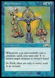 Magic the Gathering Exodus Single Equilibrium - MODERATELY PLAYED (MP)