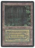 Magic the Gathering 3rd Edition ITALIAN Single Bayou (FOREIGN BLACK BORDER) - MODERATE PLAY (MP)