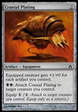 Magic the Gathering Fifth Dawn Single Cranial Plating FOIL - NEAR MINT (NM)