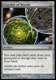 Magic the Gathering Fifth Dawn GERMAN Single Crucible of Worlds - MODERATE PLAY (MP)