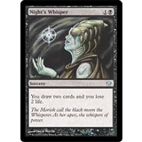 Magic the Gathering Fifth Dawn Single Night's Whisper Foil - SLIGHT PLAY (SP)