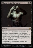 Magic the Gathering Fifth Dawn Single Plunge into Darkness - NEAR MINT (NM)