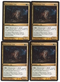 Magic the Gathering Theros PLAYSET Fleecemane Lion X4 - NEAR MINT (NM)
