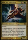 Magic the Gathering From The Vault Single Rith, the Awakener FOIL - NEAR MINT (NM)