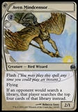 Magic the Gathering Future Sight Single Aven Mindcensor FOIL - SLIGHT PLAY (SP)
