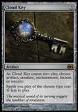 Magic the Gathering Future Sight Single Cloud Key - SLIGHT PLAY (SP)