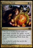 Magic the Gathering Future Sight Single Glittering Wish - HEAVY PLAY (HP)