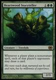 Magic the Gathering Future Sight Single Heartwood Storyteller - SLIGHT PLAY (SP)