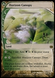 Magic the Gathering Future Sight Single Horizon Canopy - HEAVY PLAY (HP)