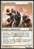 Magic the Gathering Gatecrash Single Frontline Medic Foil - NEAR MINT (NM)