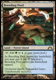 Magic the Gathering Gatecrash Single Breeding Pool FOIL - SLIGHT PLAY (SP)
