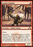 Magic the Gathering Gatecrash Single Legion Loyalist - SLIGHT PLAY (SP)