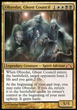 Magic the Gathering Gatecrash Single Obzedat, Ghost Council - SLIGHT PLAY (SP)